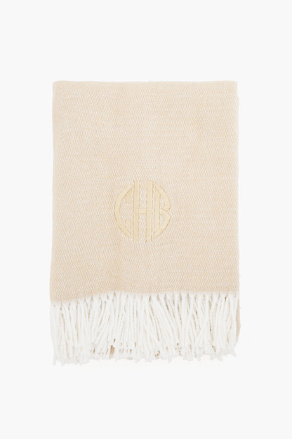 champagne pezzo throw