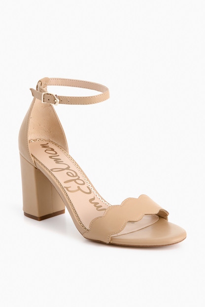 Nude Leather Odila Heels