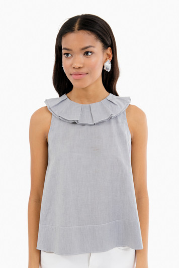 frances ruffle top