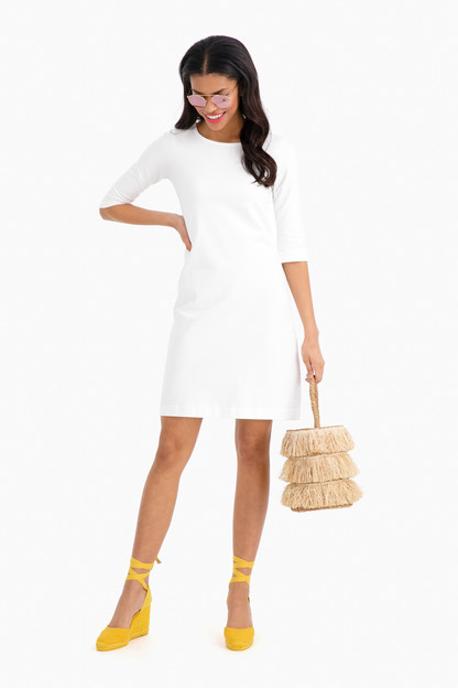 soft touch jersey dress