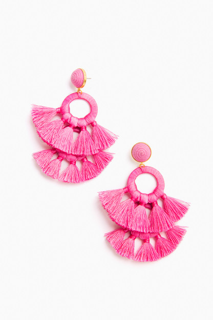 pink tango earrings
