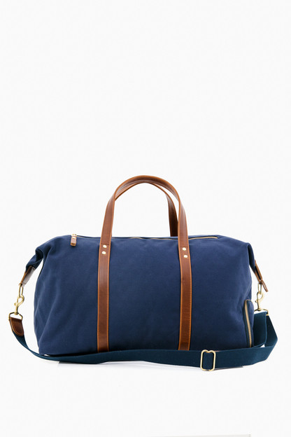 Navy Heritage Weekender Duffel If ordered with a monogram, this item will not arrive for Christmas.