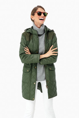 greenfinch quilted jacket