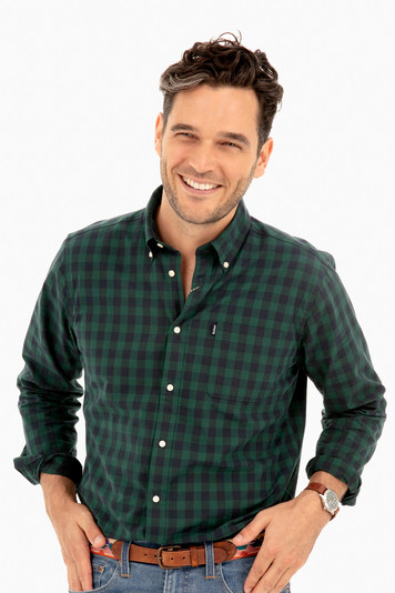 endsleigh gingham shirt