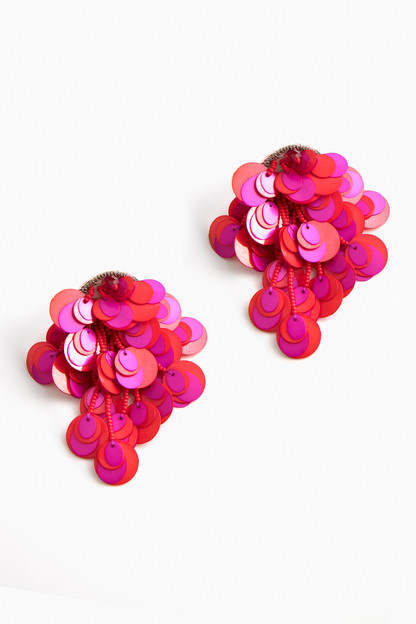 curitiba paillette earrings