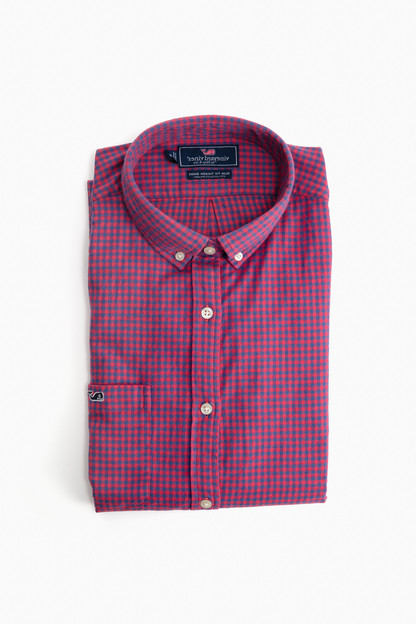 slim fit tradewinds flannel shirt