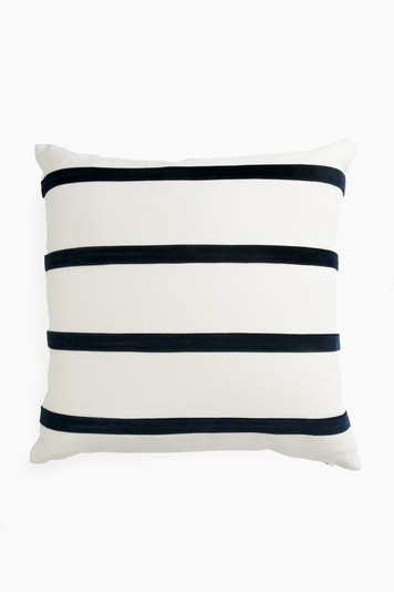 giorgio striped linen pillow