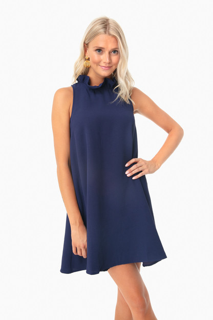 Navy Blythe Dress