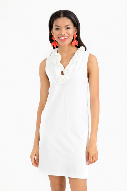 sleeveless skipper dress