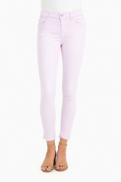 Ankle Skinny Jean with Released Hem
