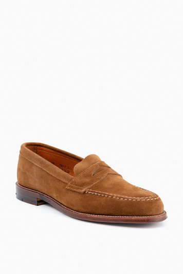 penny loafer with flex welt
