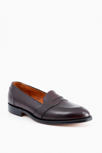 full strap slip on loafer