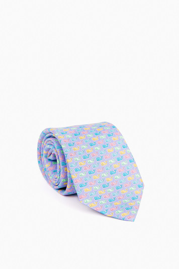 easter whale tie