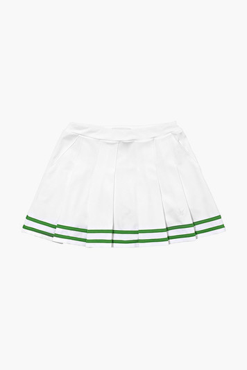 girls' pleated tipped skirt