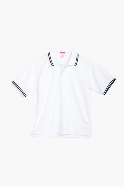 boys' tipped court polo