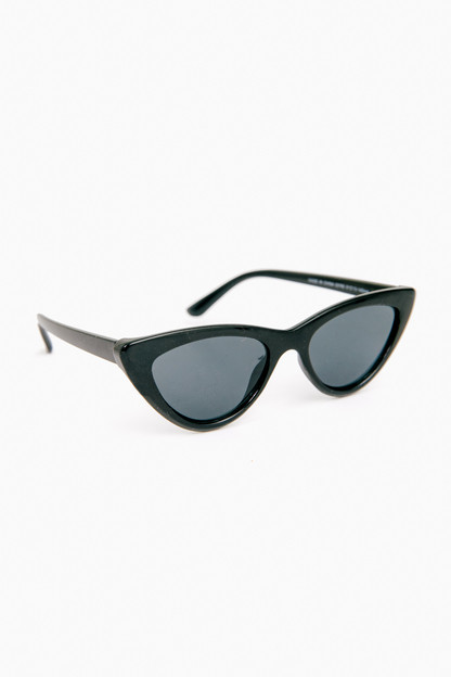 black naughty sunglasses