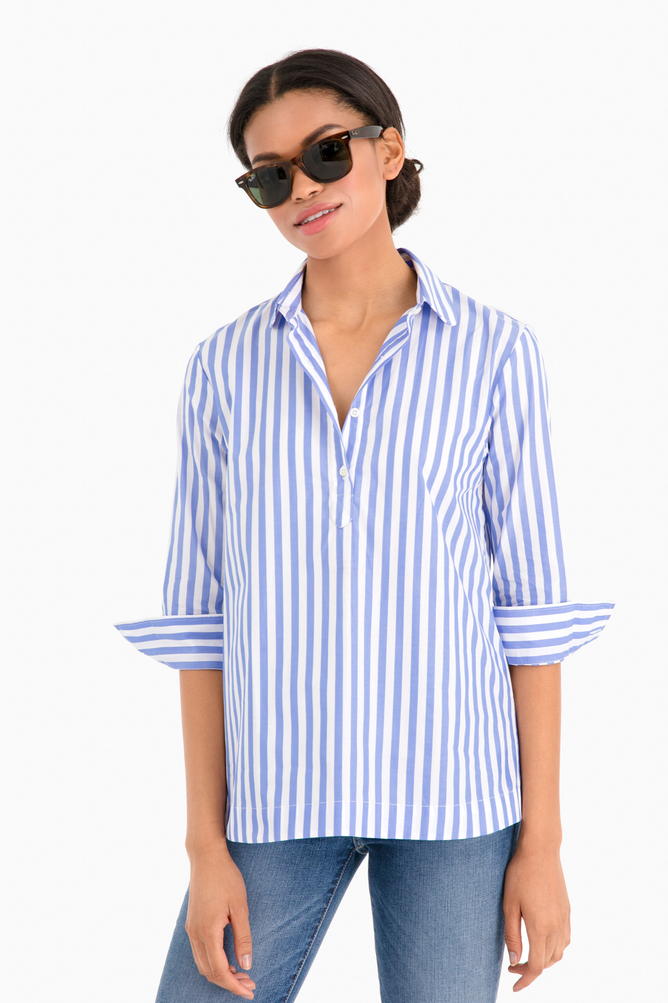 9d006cd6fa73a6 Shoptagr | Popover Shirt by The Shirt By Rochelle Behrens