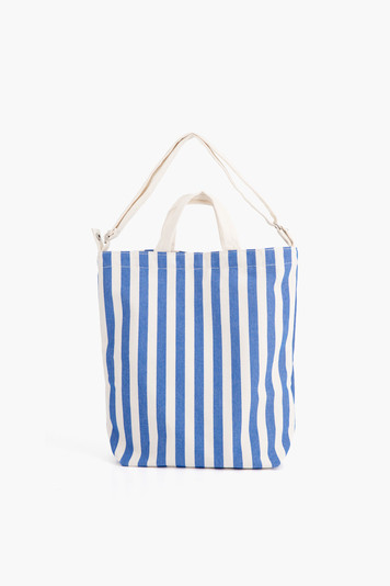 summer stripe duck bag