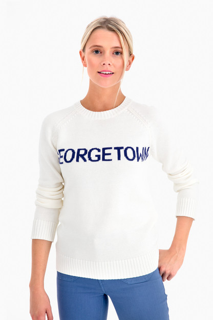 georgetown crewneck sweater