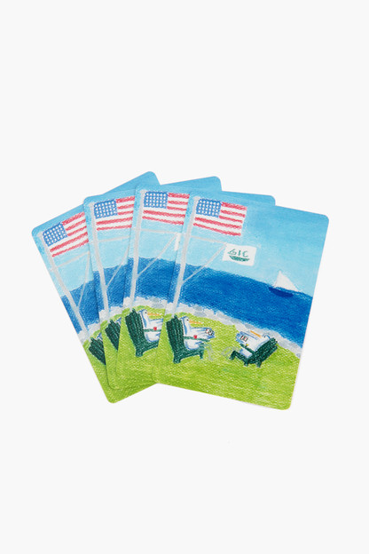 chesapeake bay playing cards