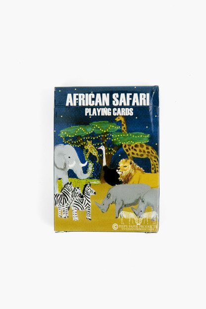 safari playing cards