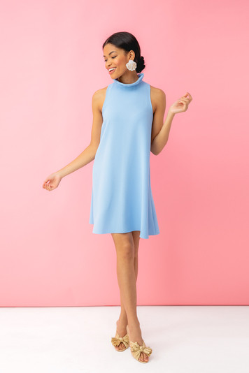 light blue blythe dress