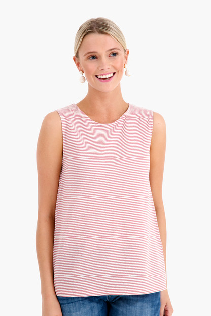 righino jersey blouse tank