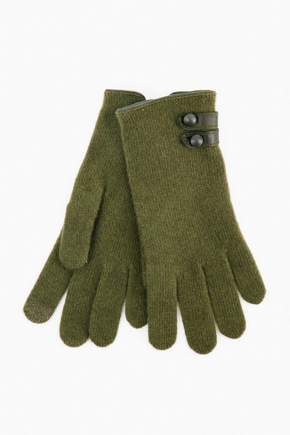 wool and cashmere tech gloves