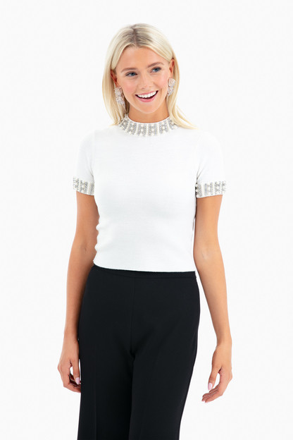 Ciara Cropped Sweater