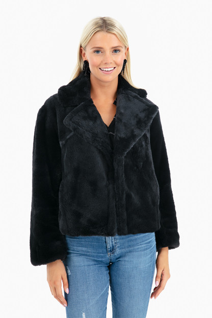 Plush Coat Take an extra 30% off with code: HOORAY