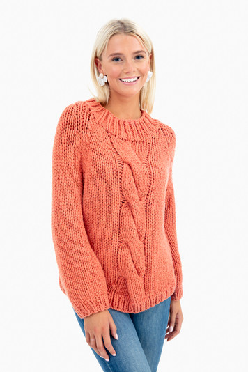 gia hand knit pullover