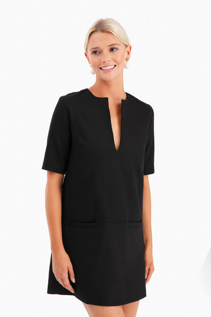 black weston dress