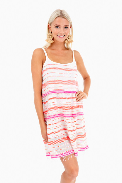 tiki layer dress