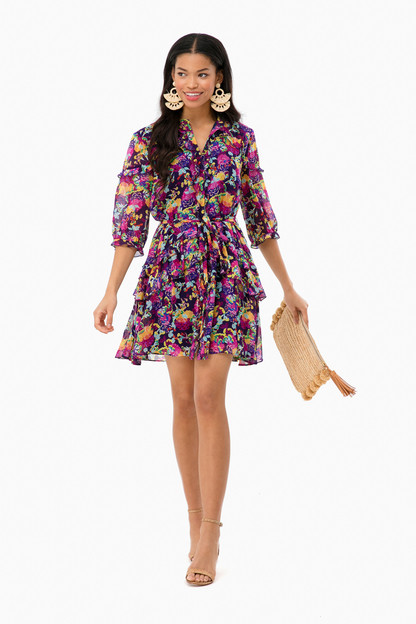 camellia tilly ruffle dress