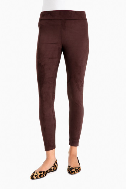 reagan suede leggings