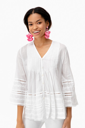 galadriel embroidered top