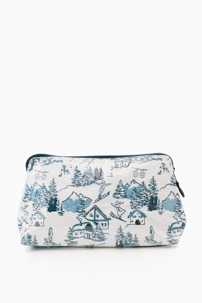 ski toile toiletry case