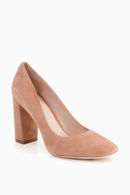 Buff Pink Phyllis Pumps