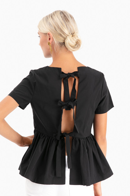 black caley blouse