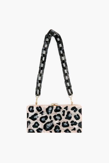 wild side leopard clutch