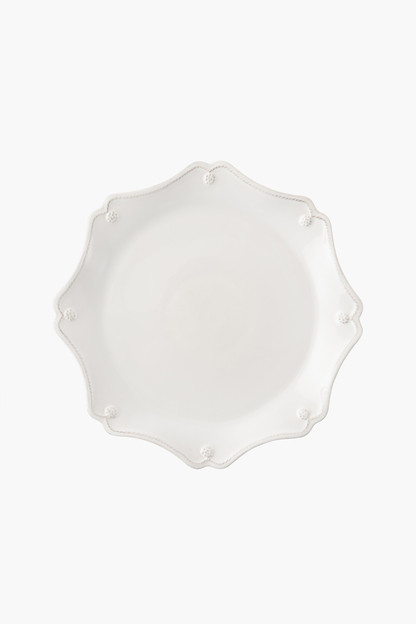 berry and thread scallop charger