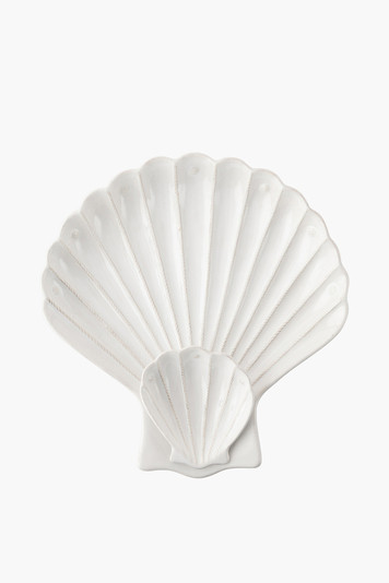berry and thread shell appetizer server