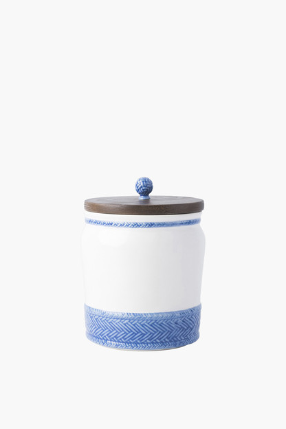 le panier 7.5 canister with wooden lid