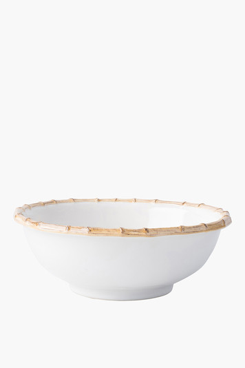 classic bamboo 11 serving bowl