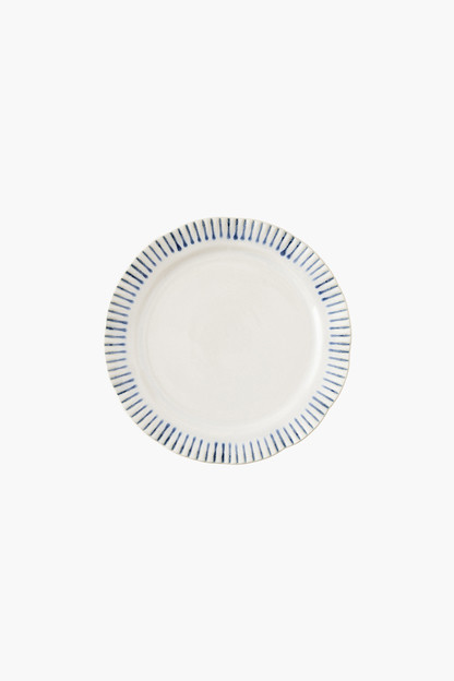 sitio stripe salad plate
