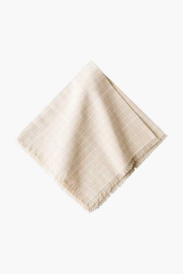 windowpane napkins (set of 4)