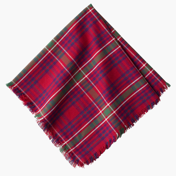 red tartan napkin (set of 4)