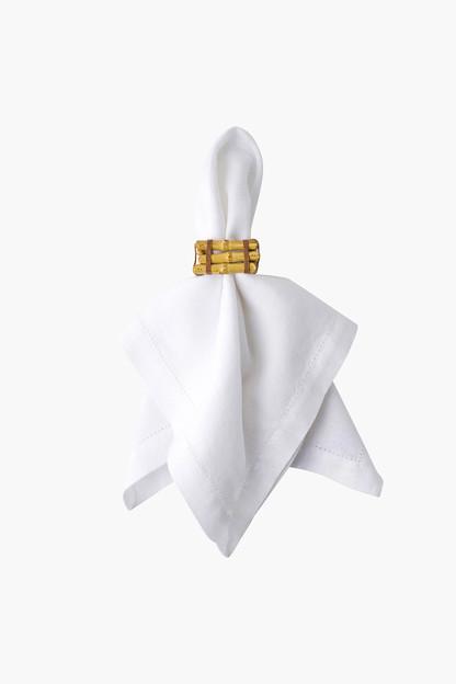 bamboo napkin rings (set of 4)