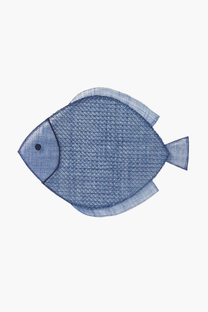 fish placemats (set of 4)