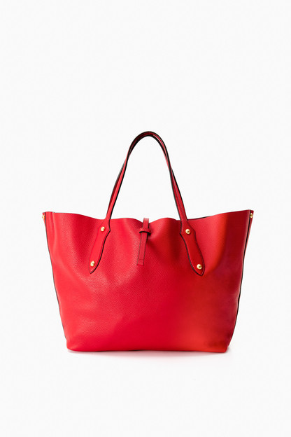 Crimson Large Isabella Item Tote